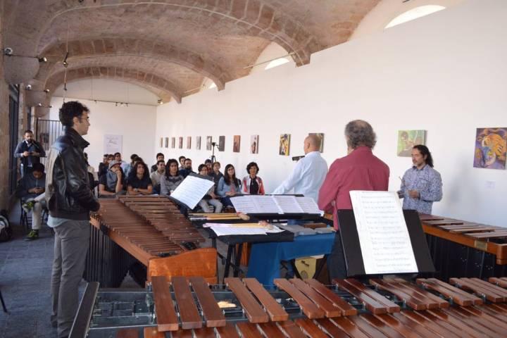 Tambuco brinda concierto did ctico en la casa de la cultura de morelia - Casa de cultura ignacio aldecoa ...