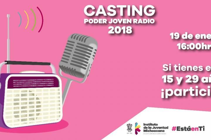 Convoca IJUMICH a jóvenes para participar en programas de radio