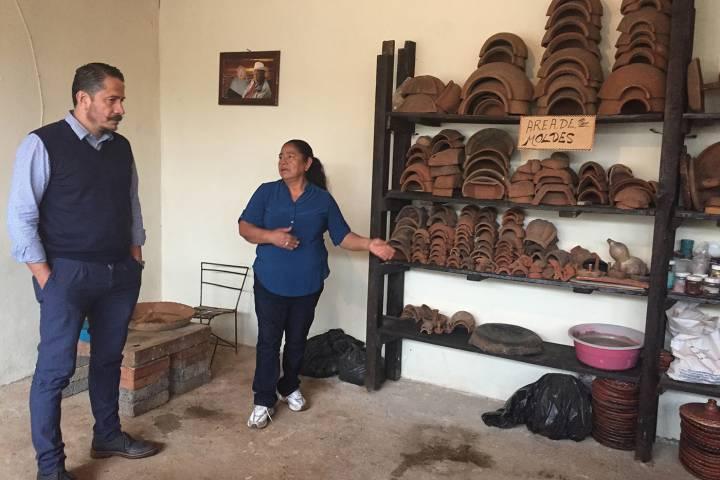 Otorgan apoyos a talleres artesanales en tzintzuntzan y for Talleres artesanales