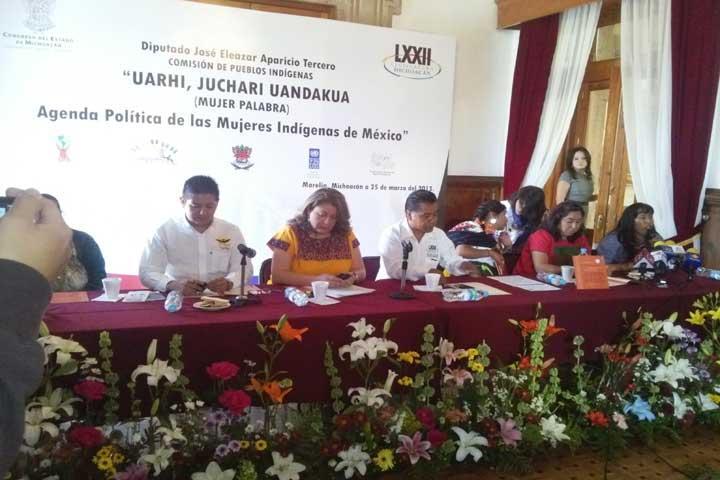 Presentan Agenda Política de las Mujeres Indígenas de México